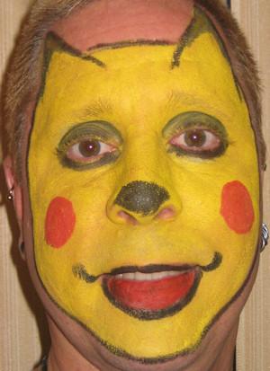 Sir Toony Van Dukes Face Painting
