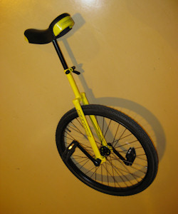 Sir Toony's Unicycle